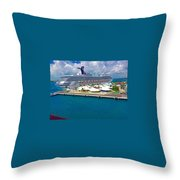 Bahamas Throw Pillow