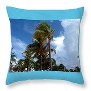 Bahamian Breeze Throw Pillow