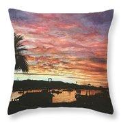 Bahia Inglesa Landscape  Throw Pillow