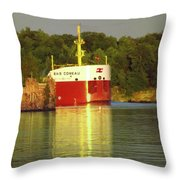 Baie Comeau Throw Pillow