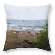 Baikul Lake, Russia Throw Pillow