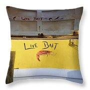 Bait Box Throw Pillow