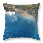 Bajamar Throw Pillow by Antonio Romero