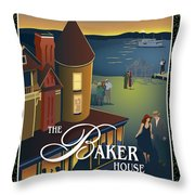 Baker House Endless Sunset Throw Pillow