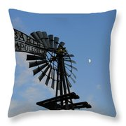 Baker Napoleon And The Moon Throw Pillow