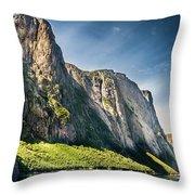 Bakers Brook Pond, Gros Morne National Park, Newfoundland And Labrador, Canada  Throw Pillow