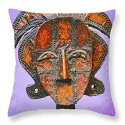 Bakota Reliquary Throw Pillow