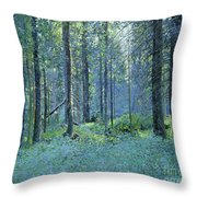 Balaam.thick Of The Forest Throw Pillow