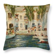 Balaklava Throw Pillow