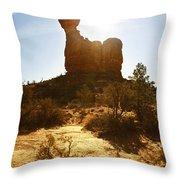 Balancd Rock 3 Throw Pillow