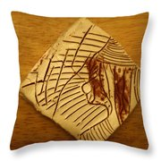 Balance - Tile Throw Pillow