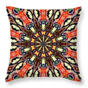 Balance Mandala  Throw Pillow