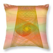 Balance Of Energy Throw Pillow