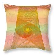 Balance Of Energy Throw Pillow