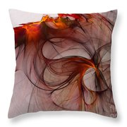 Balance Of Power Abstract Art Throw Pillow