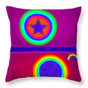 Balance Of Power Throw Pillow