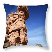 Balanced Rock 1 Throw Pillow