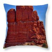 Balanced Rock 3 Throw Pillow