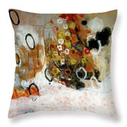 Balancing Freedom-1 Throw Pillow