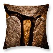 Balancing Rocks Throw Pillow