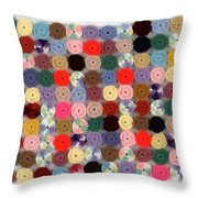 Balbina's Yarn Throw Pillow