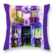 Balcony Of Poets Throw Pillow