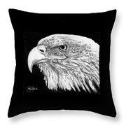 Bald Eagle #4 Throw Pillow