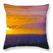 Bald Head Island Study 10 Throw Pillow
