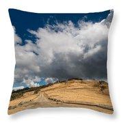 Bald Hills In Summer 2 Throw Pillow