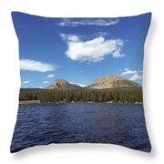 Bald Mountain Throw Pillow