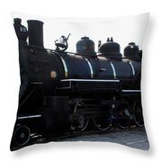 Baldwin Locomotive Throw Pillow