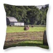 Bale-o-rama Throw Pillow