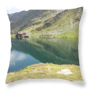 Balea Lake Throw Pillow