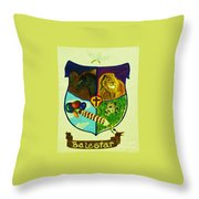 Balestar Crest Throw Pillow