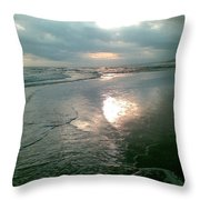 Bali Dusk Throw Pillow
