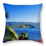 Bali Hai Throw Pillow