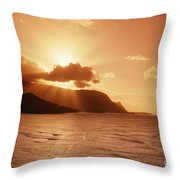 Bali Hai Poin Throw Pillow