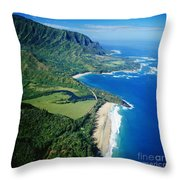 Bali Hai Point. Throw Pillow