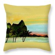 Bali Hi Kauai Throw Pillow