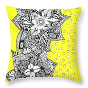 Bali Holiday Throw Pillow