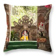 Bali Stage Throw Pillow