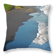 Bali Western Shore Throw Pillow