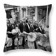Balinese People Throw Pillow