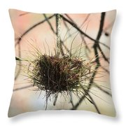 Ball Moss Throw Pillow