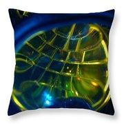 Ball Of Color Throw Pillow