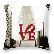 Ball Of Love Throw Pillow
