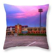 Ball Park Throw Pillow