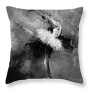 Ballerina 09912 Throw Pillow