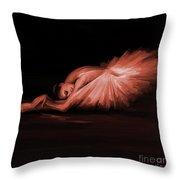 Ballerina Dance 11022 Throw Pillow