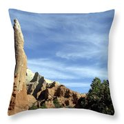 Ballerina Spire Throw Pillow
